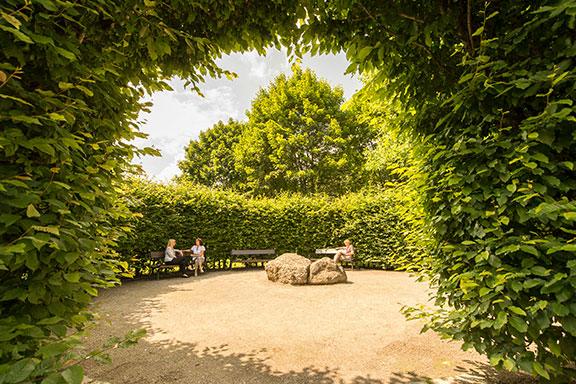 Gartenanlage-Klinik-Windach